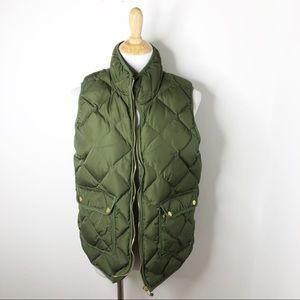 Woolrich Duck Down Hunter Green Puffer Vest